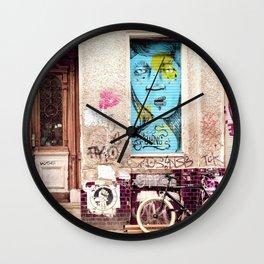 STREETART BERLIN by Jay Hops Wall Clock