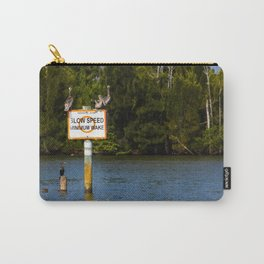 Manatee Zone Carry-All Pouch