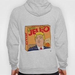 Donald Trump Constitution Orange Jell-O Art - Single Box Hoody