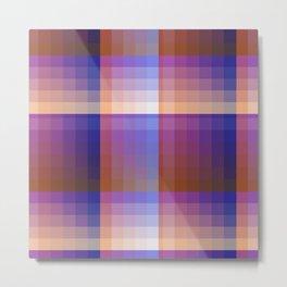 Complimentary Color Harmony ..Blue/orange Metal Print