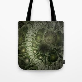 Fractal Moss Tote Bag