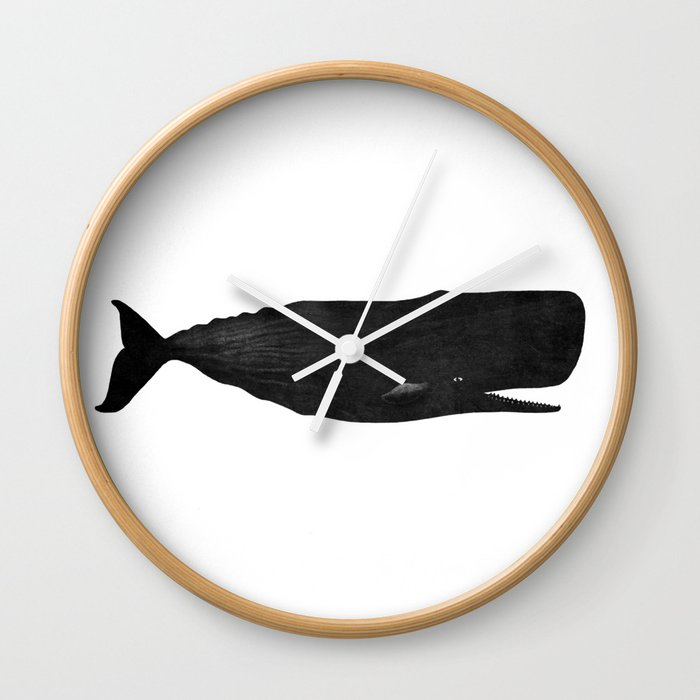 Sperm Whale Wall Clock