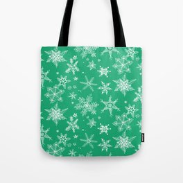 Snow Flakes 04 Tote Bag