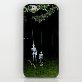 Skeletons iPhone Skin