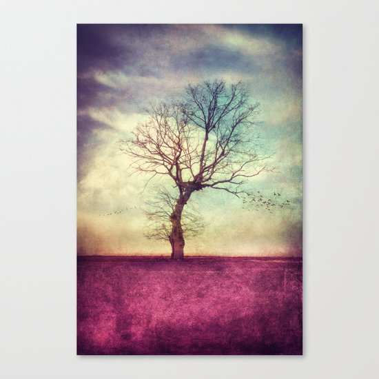ATMOSPHERIC TREE Canvas Print