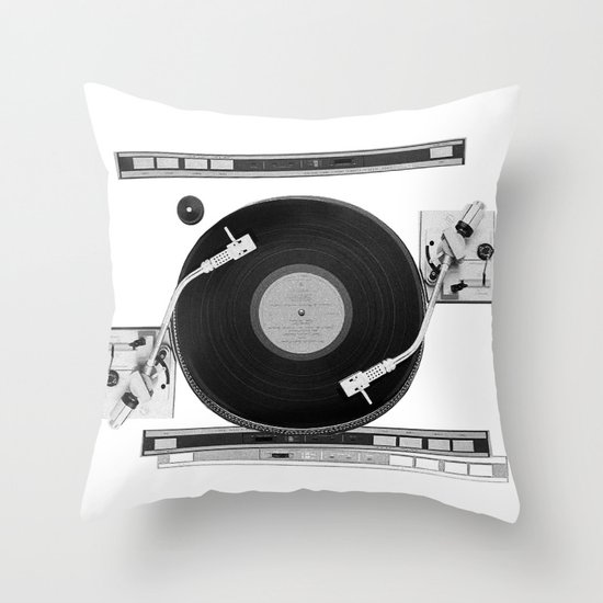 Both Sides of The Story Throw Pillow