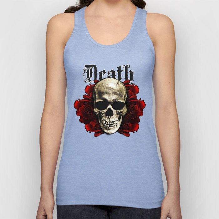 Death Skull Unisex Tank Top
