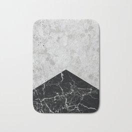 Concrete Arrow Black Granite #844 Bath Mat