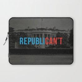 RepubliCAN'T Laptop Sleeve