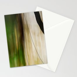 Forest, Water, Lines Stationery Cards