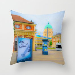 ...  P o t s d a m  ... Throw Pillow