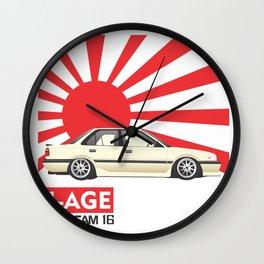 Toyota Corolla AE92 4-AGE Wall Clock