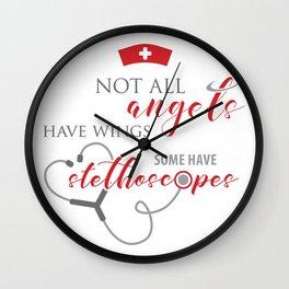 Doctor & Nurse Wall Clock