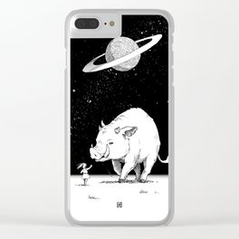 Edge of the universe: Warthog Clear iPhone Case