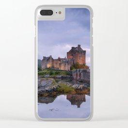 The Castle on the Lake Clear iPhone Case