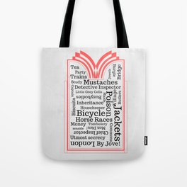 The Beauty of British Mysteries Tote Bag