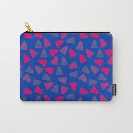 Bisexual Pride Simple Bells Pattern Carry-All Pouch