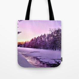 Frozen Voyage Tote Bag