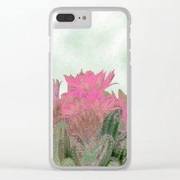 Succulenta Clear iPhone Case