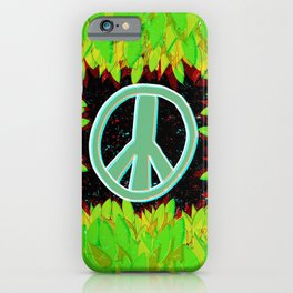 Green Peace iPhone Case