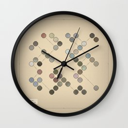 Colours In Nature Wall Clock