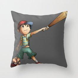 Slugger Throw Pillow