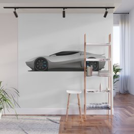 Exotic Modern Super Car Concept Wall Mural