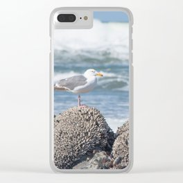 Tide Monitor Clear iPhone Case