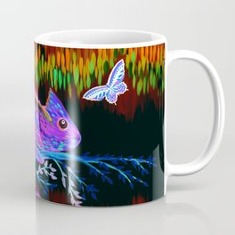 Chameleon at Night Coffee Mug