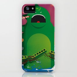 Godzilla in Dublin iPhone Case