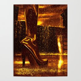 Shiny Boots of Leather Poster