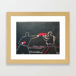 Protect Good Framed Art Print