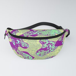 Radioactive camouflage. Fanny Pack
