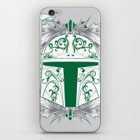 boba iPhone & iPod Skins featuring Boba Tatt by Matthew Bartlett
