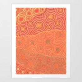 Orbs a Plenty Art Print