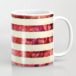 Vintage American Flag Coffee Mug