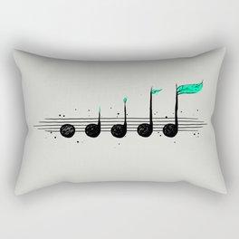Biosphere Orchestra Gray Rectangular Pillow