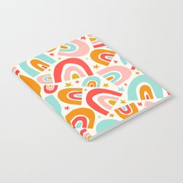 Raining Rainbows - Multi Notebook