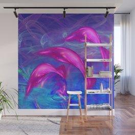 Dolphin Fantasy 2 Wall Mural