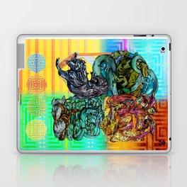 Mysticx & Magick: The Japanese Elemental Gods - Art Cover Laptop & iPad Skin
