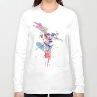 inspiration Long Sleeve T-shirts featuring Inspiration by Tsukiko-Kiyomidzu