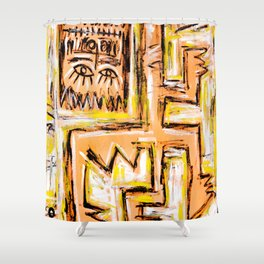 Avec et a Travers by Johnny Otto Shower Curtain