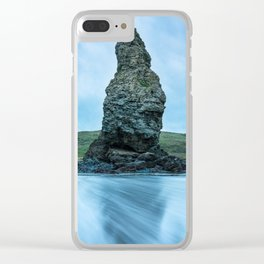 Needle Rock at Cape Blanco State Park Clear iPhone Case