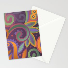 Summer leaves, heavy scented Stationery Cards