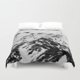 Minimalist Mountains Duvet Cover