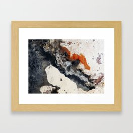 Peeling Paint Framed Art Print
