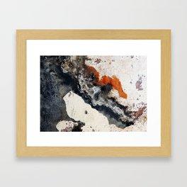 Peeling Paint Framed Art Print