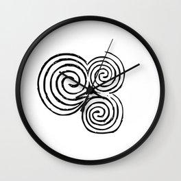 Newgrange Celtic Spiral Wall Clock