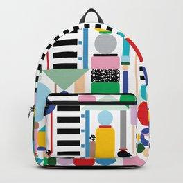Postmodern Cityscape Backpack