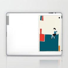 Sitting Laptop & iPad Skin
